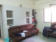 **ID035** 2BHK 2 AC, 4 Wardrobe, 2 Double bed, Sofa, Kitchen Cabinet, 8-10 mins walk from college, 50K Negotibale