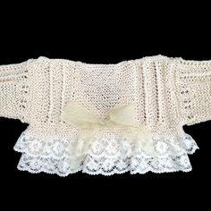 m a z m e l a: mayo 2013 Baby Knitting Patterns, Baby Patterns, Crochet Patterns, Baby Girl Dresses Diy, Baby Dress, Crochet Baby, Knit Crochet, Baby Girl Sweaters, Baby Coat