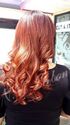 Beautiful Full Sew In and Curls