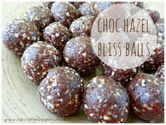 Choc Hazel Bliss Balls - Natural New Age Mum