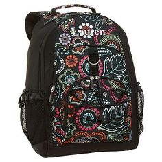 I love the Gear-Up Light Bright Floral Backpack on pbteen.com