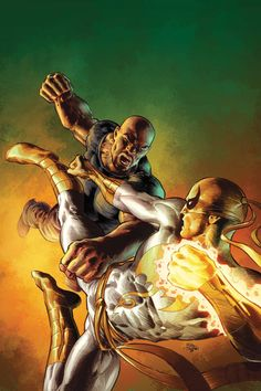 Power Man (Luke Cage) vs. Iron Fist (Danny Rand)