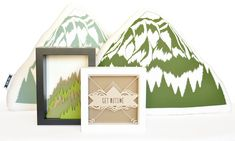 Mountain Pillow from