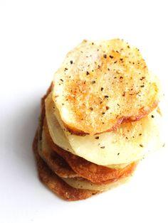 Homemade Salt & Pepper Chips | The Almond Eater