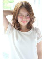 ひし形カールボブ 【パーソナルカラーワンサイドタンバルモリ】 - 24時間いつでもWEB予約OK!ヘアスタイル10万点以上掲載!お気に入りの髪型、人気のヘアスタイルを探すならKirei Style[キレイスタイル]で。