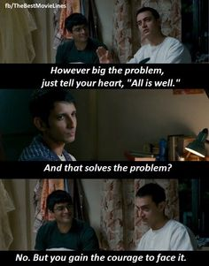 19 best 3 idiots quotes bollywood images in 2018 Famous Dialogues, Movie Dialogues, Powerful Motivational Quotes, Inspirational Quotes, 3 Idiots Quotes, Movie Quotes, Life Quotes, Best Movie Lines, Bollywood Quotes