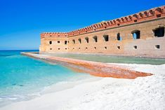 Dry Tortugas Beaches, Florida The 15 Most Incredible Beaches In The U. Us Beach Vacations, Vacation Places, Dream Vacations, Vacation Spots, Places To Travel, Vacation Ideas, Honeymoon Ideas, Vacation Destinations, Best Us Beaches