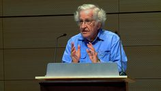 "In a speech Saturday at The New School in New York, Noam Chomsky explained why he believes the U.S. poses the greatest threat to world peace. ""[The United States] is a rogue state, indifferent to international law and conventions, entitled to resort to violence at will. …"