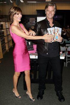 Harry Hamlin and Lisa Rinnas book tour