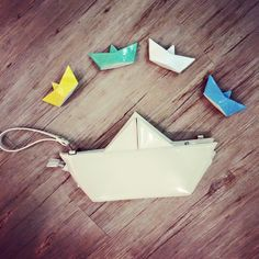 Ceramics and bags origami SS15