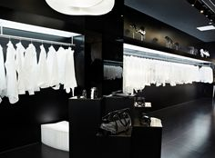 Beijing Boutique. sleek black with classic white.