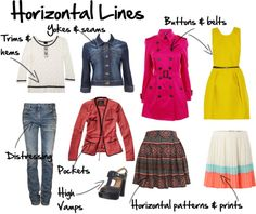 E is for Elongation: To elongate you want to ensure you have more vertical lines and fewer horizontal lines. Vertical lines lengthen.Horizontal lines shorten and broaden. Fashion 101, Petite Fashion, Fashion Advice, Fashion Looks, Fashion Outfits, Fashion Trends, Fashion Beauty, Workwear Fashion, Fashion Ideas