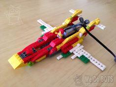 Twin tale airplane