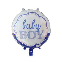 New design 18 inch Pink or Blue Baby round shape Helium Foil Balloons Birthday Ballons Globos Air Balloons Helium Balloons, Foil Balloons, Air Balloon, Baby Boy Birthday, Happy Birthday, Balloon Prices, Kids Party Decorations, Child Day, Birthday Balloons