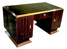 Furniture: Art Deco desk