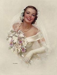 June Bride, via Flickr.