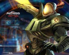 Weavel Wallpaper (Metroid Prime Hunters)