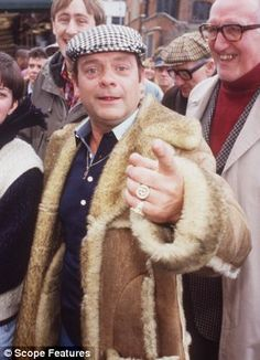 4: Derek 'Del Boy' Trotter - David Jason in Only Fools and Horses.