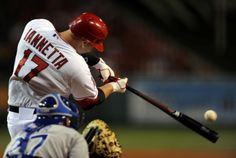 The Angels catcher, Chris Iannetta