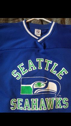ca7b2cb5d Vintage 1981 Seattle Seahawks Throwback Jersey! 38 years old but still LIKE  NEW! for Sale in Tacoma