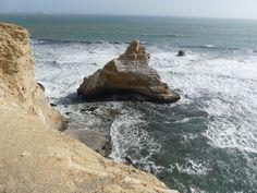Visite de la Réserve naturelle de Paracas au Pérou, sur la côté ouest. Vue sur l'Océan Pacifique.