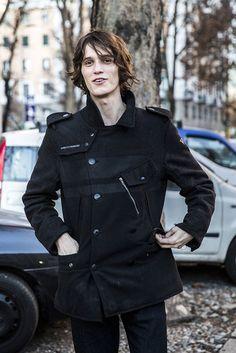 All the best male model off-duty snaps from outside Men's Fashion Week.
