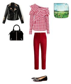 """Spring!!!"" by francystyling78 on Polyvore featuring moda, W118 by Walter Baker, The Great, Christian Louboutin e WithChic"