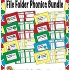 When you download this activity you'll receive 10 templates for creating your own phonics based file folder activities. These activities are ideal...