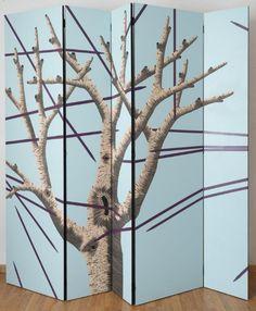 La foresta di pannelli e paraventi di Zoe Ouvrier - Living Corriere