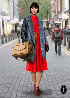 proenza schouler, collage, outfit, red