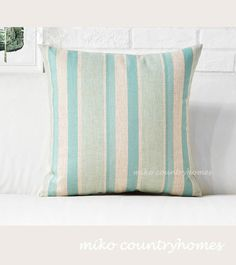 $15 | Pastel Blue Gingham | Throw Pillow Cover #throwpillows #pillowcover #gingham #pastelcolors