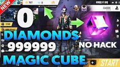 free fire unlimited magic cube with zero diamond Episode Free Gems, Fire Video, App Hack, Gaming Tips, Android Hacks, Code Free, Hacks Videos, 100 Free, Free Games