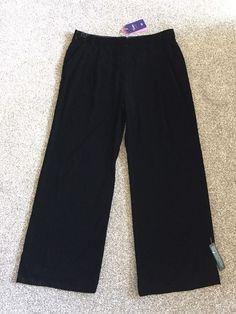 M&S TWIGGY Collection Ladies VELVET trousers UK16 EU44 BNWT Black