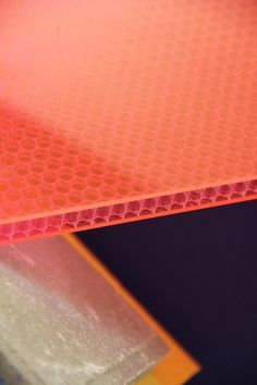 Honeycomb panels by Mykon http://www.material-lab.co.uk/blog/post/profile-honeycomb-panels-by-mykon/