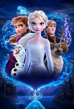 Frozen 2 (2019) poster textless #1 by mintmovi3 on DeviantArt