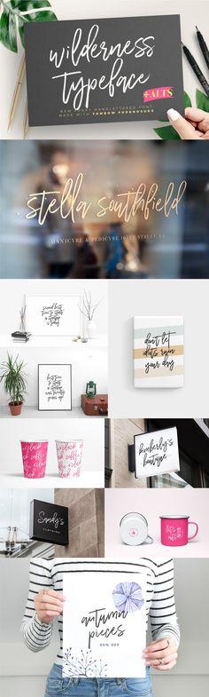 Wilderness Typeface – Pixelify