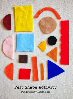 make a fun DIY Felt Shape activity