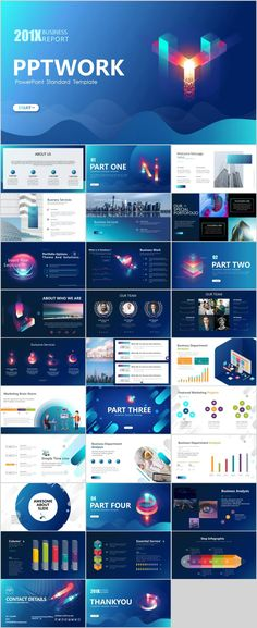 Business infographic : 30 Best business Multicolor PowerPoint templates on Behance Simple Powerpoint Templates, Professional Powerpoint Templates, Keynote Template, Powerpoint Presentations, Presentation Design Template, Business Presentation, Presentation Maker, Presentation Slides, Big Data