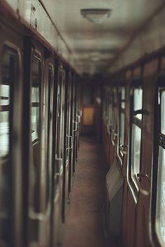 Alone on a train ride..