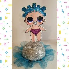Late Birthday, 6th Birthday Parties, Surprise Birthday, Little Mermaid Birthday, Little Mermaid Parties, Barbie Party, Doll Party, Birthday Party Centerpieces, Diy Party Decorations