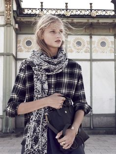 madewell 2015 winter scarfs