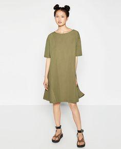 ZARA - TRF - SHORT SLEEVE DRESS