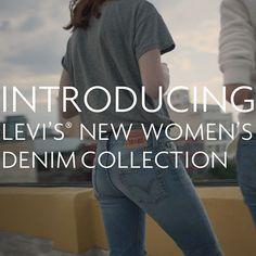 Introducing: Levi's new women's denim collection!  #LiveinLevis #VogueInfluencer