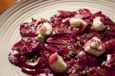 Beetroot salad & lemon thyme