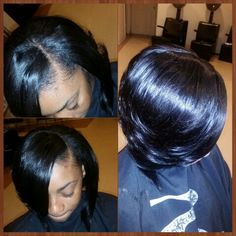 Sew in full head