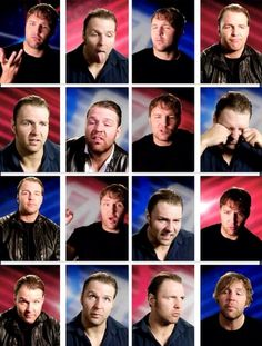 The many faces of Dean Ambrose