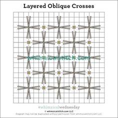 #whimsicalwednesday blog — whimsicalstitch.com Needlepoint Designs, Needlepoint Stitches, Embroidery Stitches, Needlework, Cross Stitches, Plastic Canvas Stitches, Flower Embroidery Designs, Bargello, Color Lines