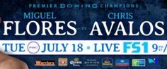 Chris Avalos Gets Controversial TKO Victory Over Miguel Flores after Five Rounds of Premier Boxing ChampionsTOE-TO-TOE TUESDAYS