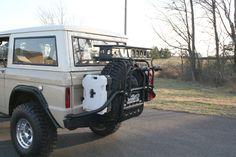 Built a bumper & tire carrier - Pirate4x4.Com : 4x4 and Off-Road Forum
