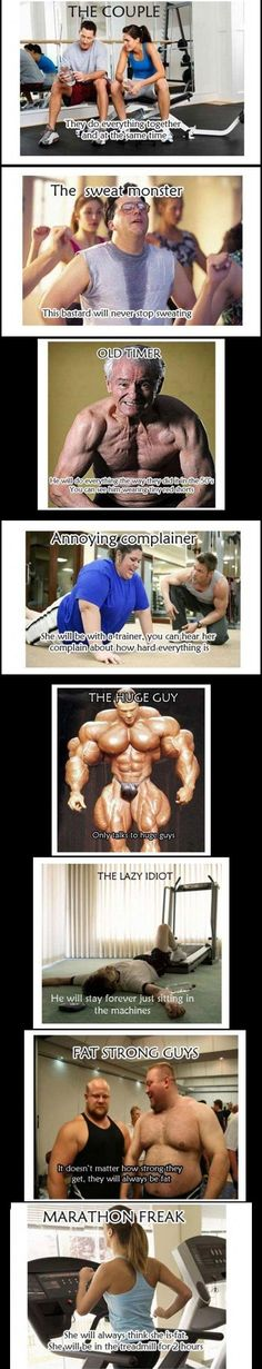 Which one are you?  For more personalities, go to:  http://www.gyminsight.com/blog/2012/12/gym-personalities-which-one-are-you/